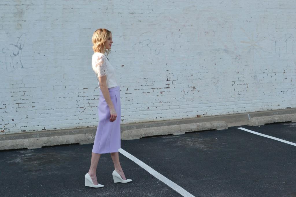 culottes, white top, chloe + isabel walking 1
