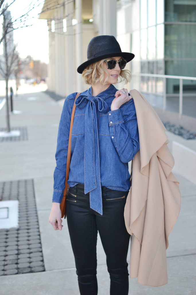 Uptown Cheapskate denim top and jeans