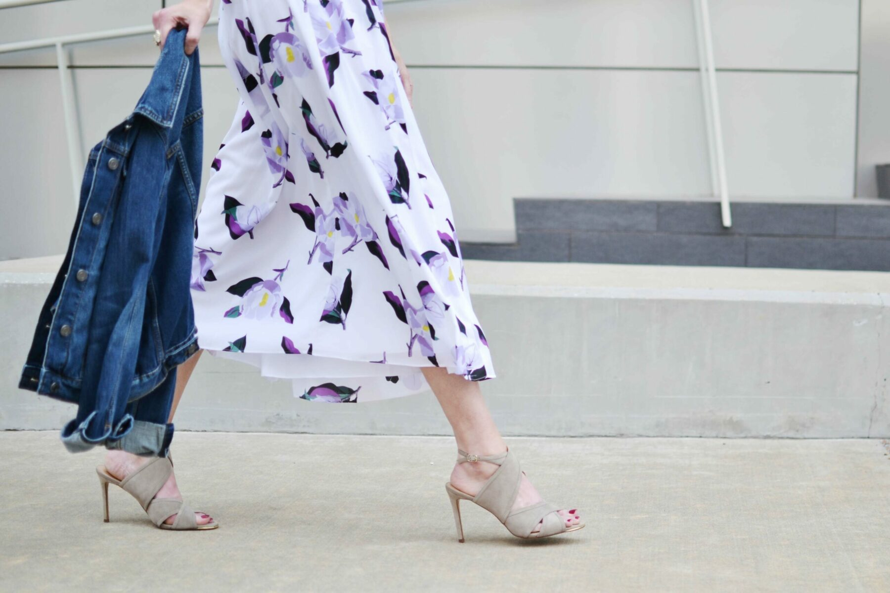 How To Style A Floral Dress Straight A Style