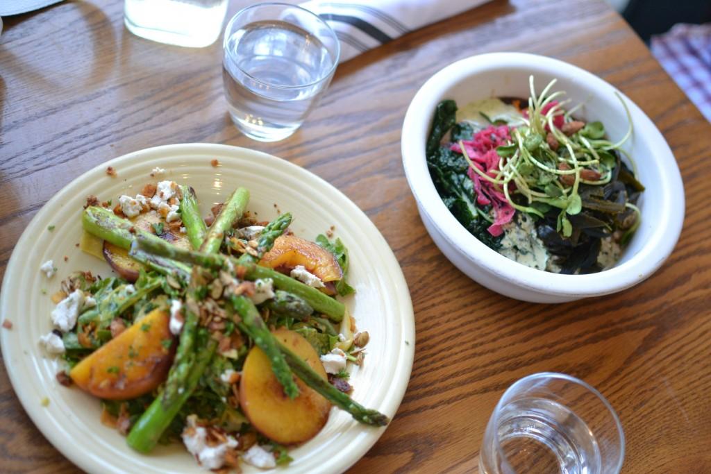 Los Angeles travel diary Cafe Gratitude food
