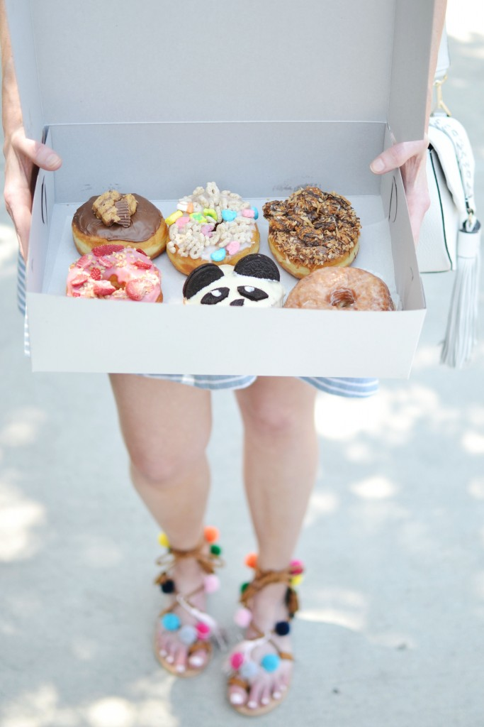 Los Angeles travel diary California Donuts