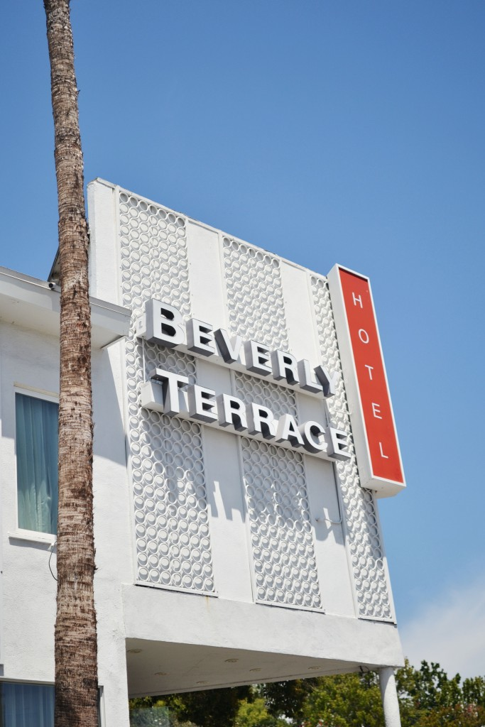 Los Angeles travel diary Hotel Beverly Terrace