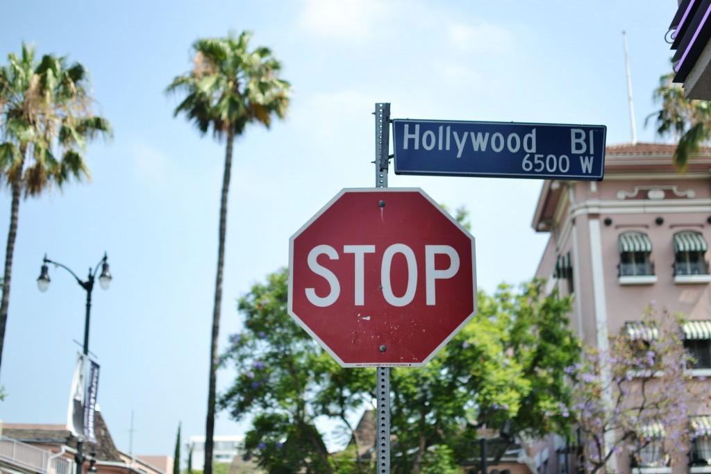 Los Angeles travel diary hollywood blvd