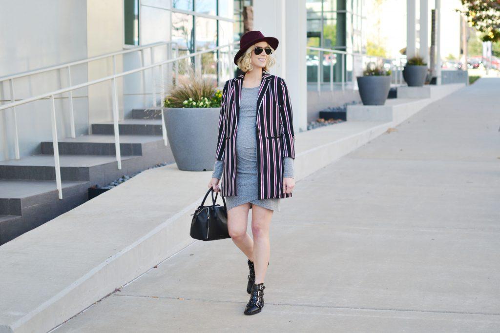 grey-dress-striped-blazer-boots-2