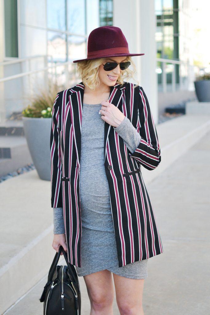 grey-dress-stripes-blazer-details