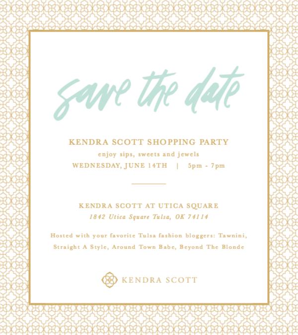 kendra scott shopping party