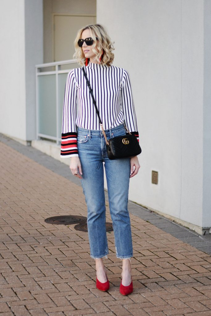 why you should try straight leg jeans and how to style them