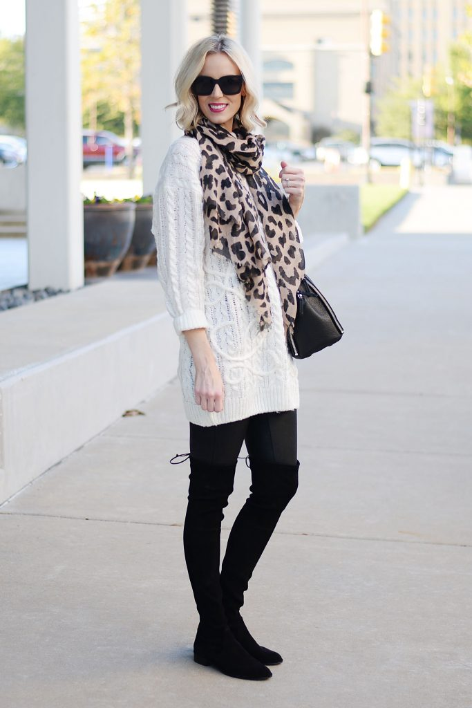 3 ways to style the cutest leopard scarf