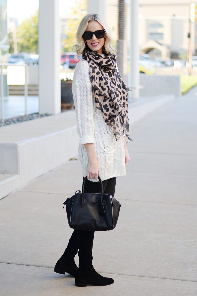 easy and comfy fall legging outfit