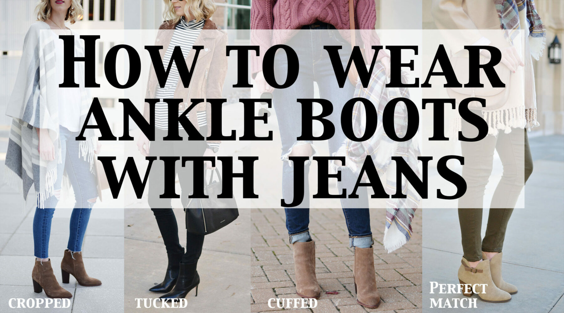 e5393bcd89c How to Wear Ankle Boots with Jeans - The Dos & Don'ts - Straight A Style