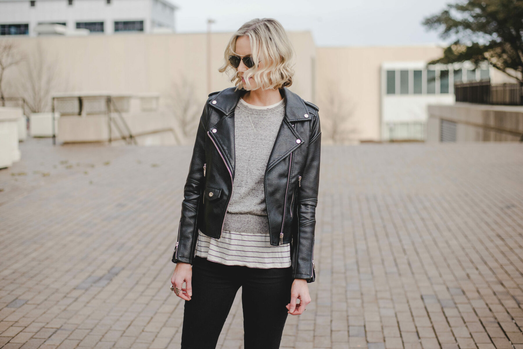 When to wear a leather jacket