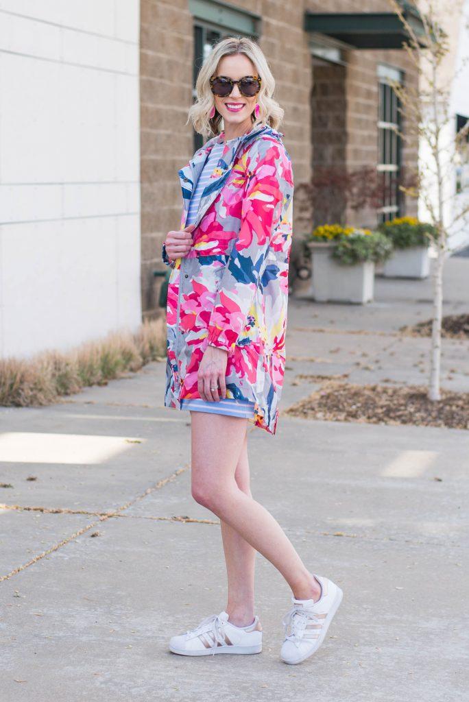 cute floral rain jacket