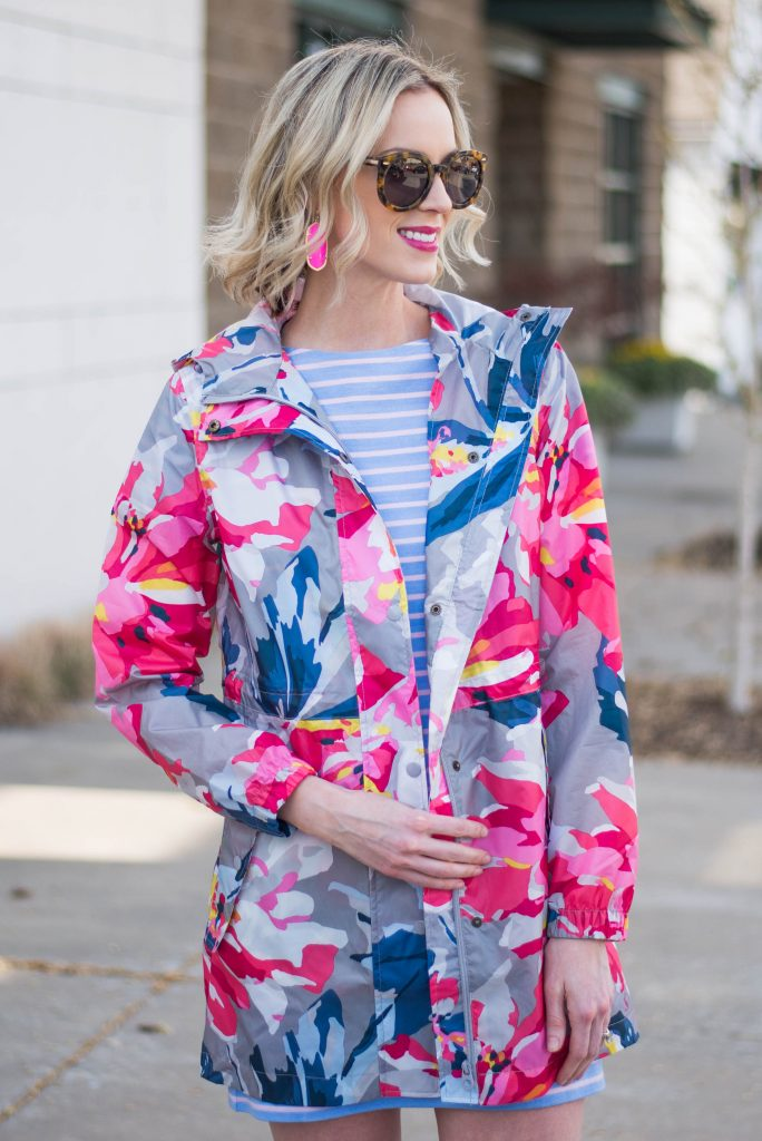 stripes and floral for spring