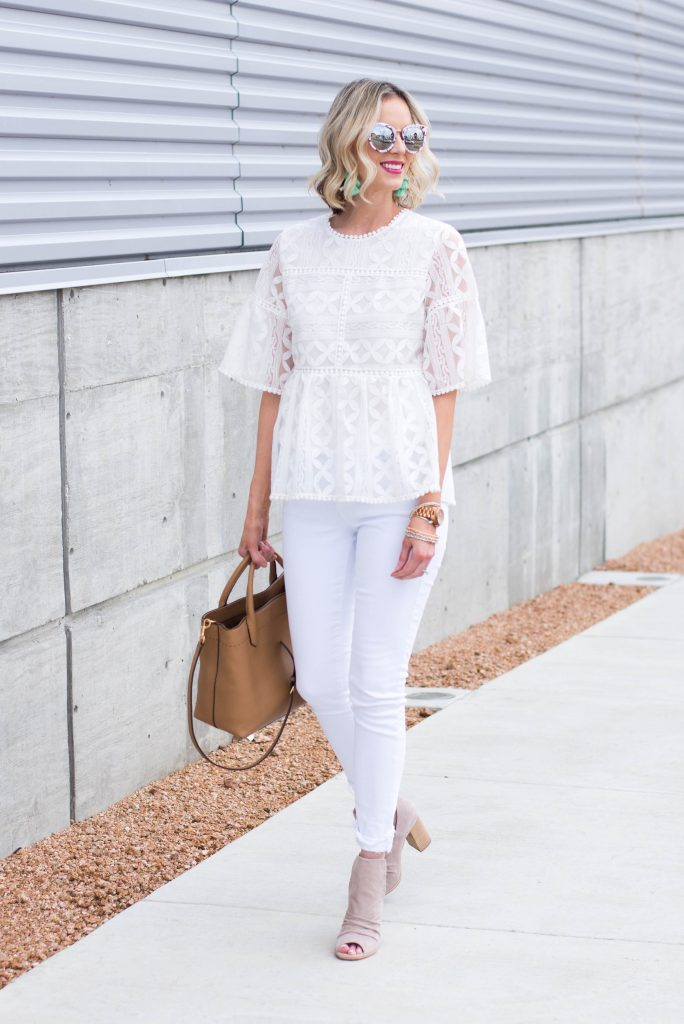 why you should try wearing all white