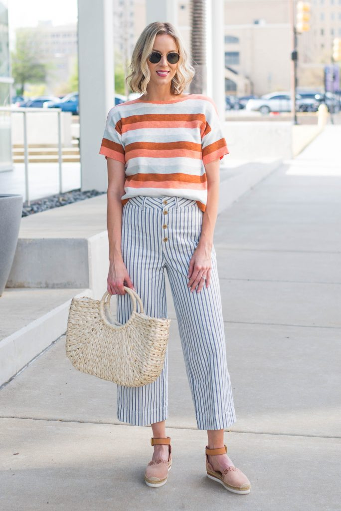 how to print mix - double your print, stripes on stripes