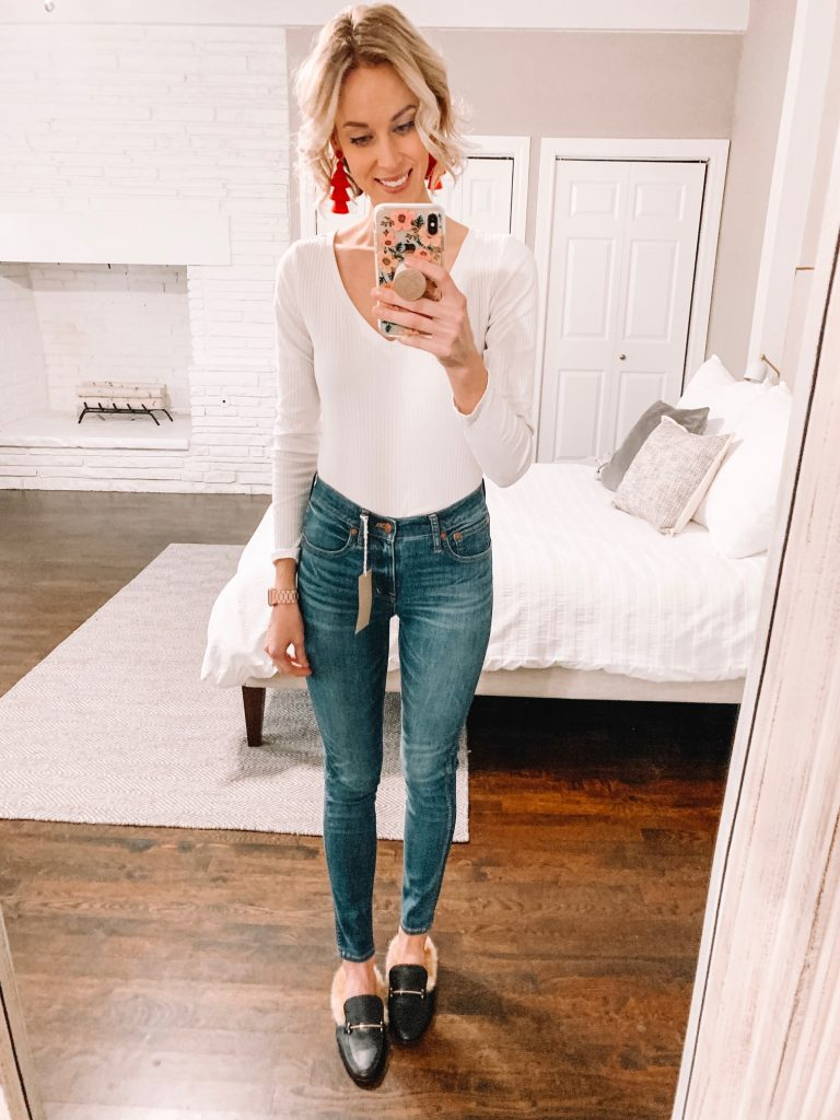 the best high waisted skinny jeans - Madewell