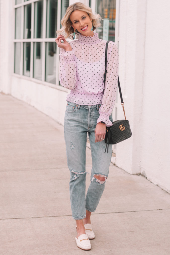 shoes to wear with cropped jeans, straight leg jean shoe options