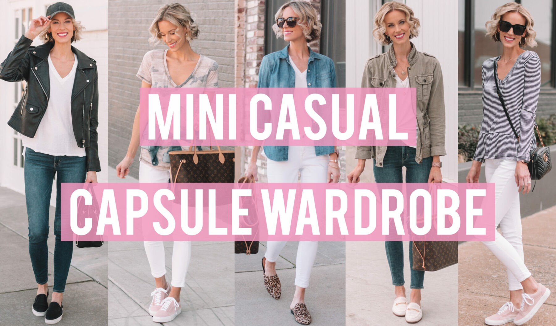 6135233709f3 Mini Casual Capsule Wardrobe - How to Mix and Match Your Closet ...