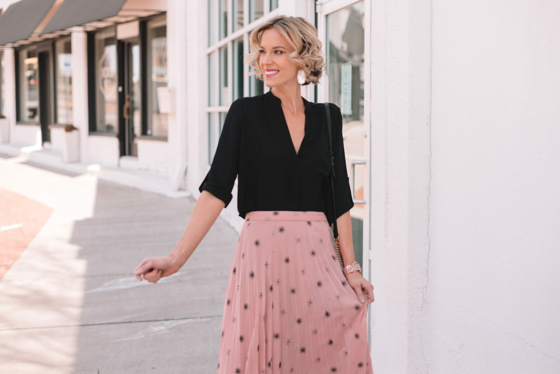 a7f3436bdce Midi Skirt Obsession + My Favorite Brand - Straight A Style