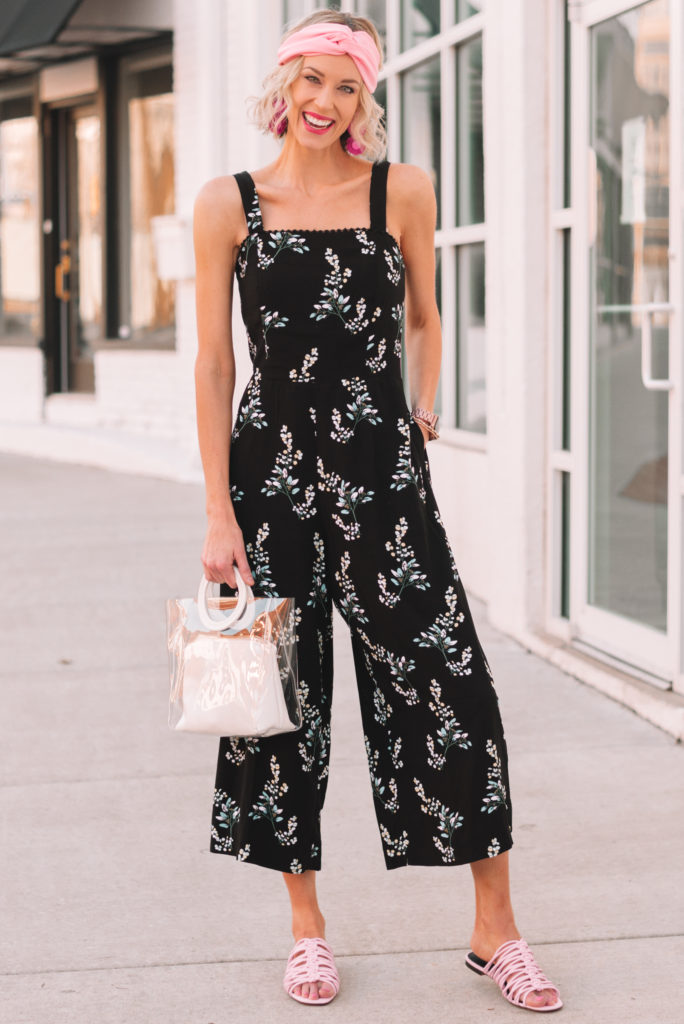 how to wear a jumpsuit 2 ways, easy accessory swaps to totally change up an outfit and get the most from your wardrobe