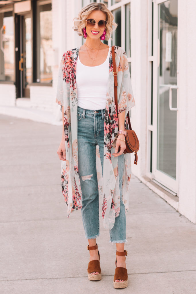 what shoes to wear with cropped straight jeans, easy styling tips for straight leg jeans