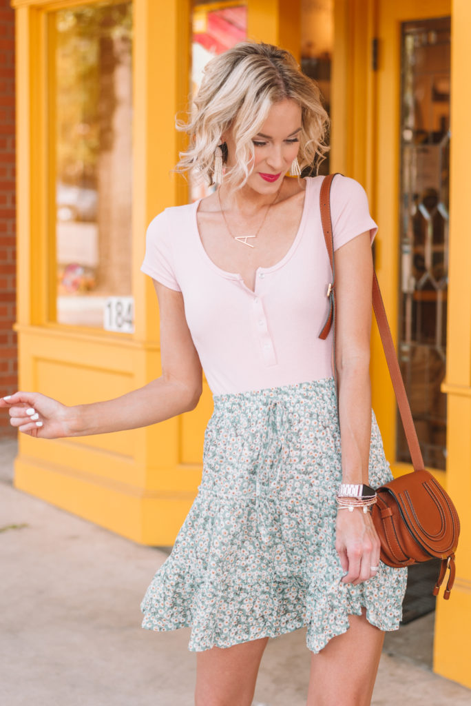 cute summer outfit for weekend