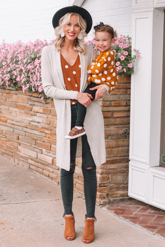mommy and me fall matching outfits
