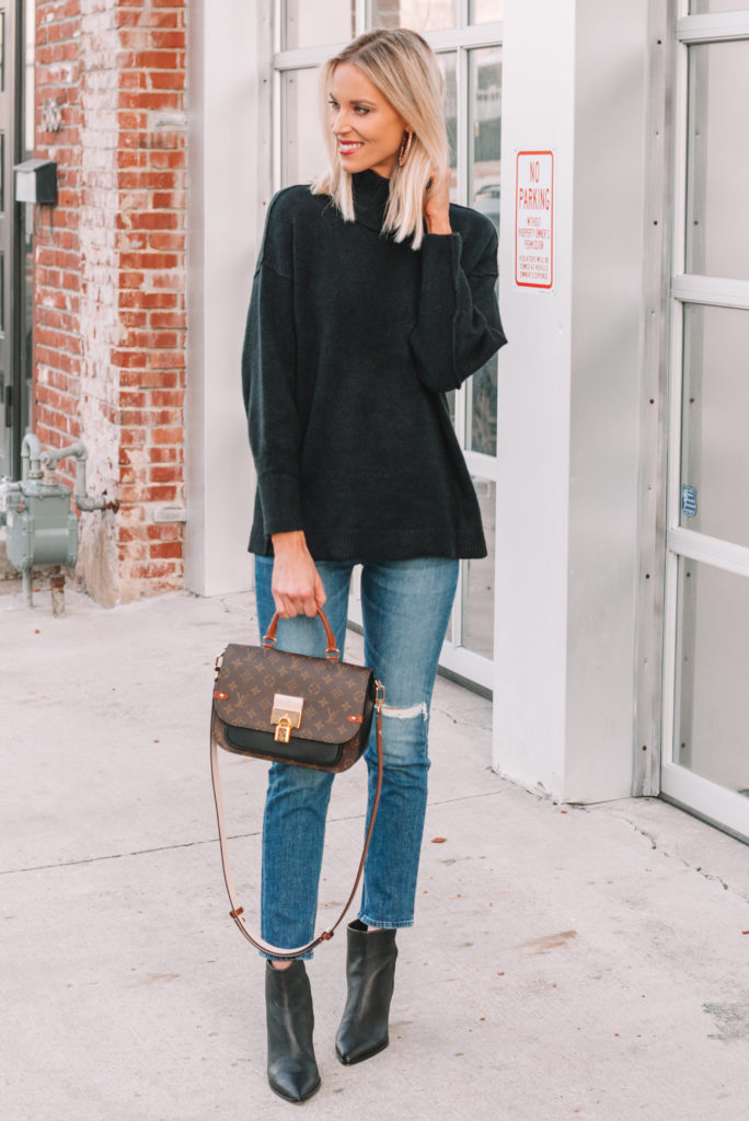how to wear cropped jeans in cold months, what shoes to wear with cropped jeans