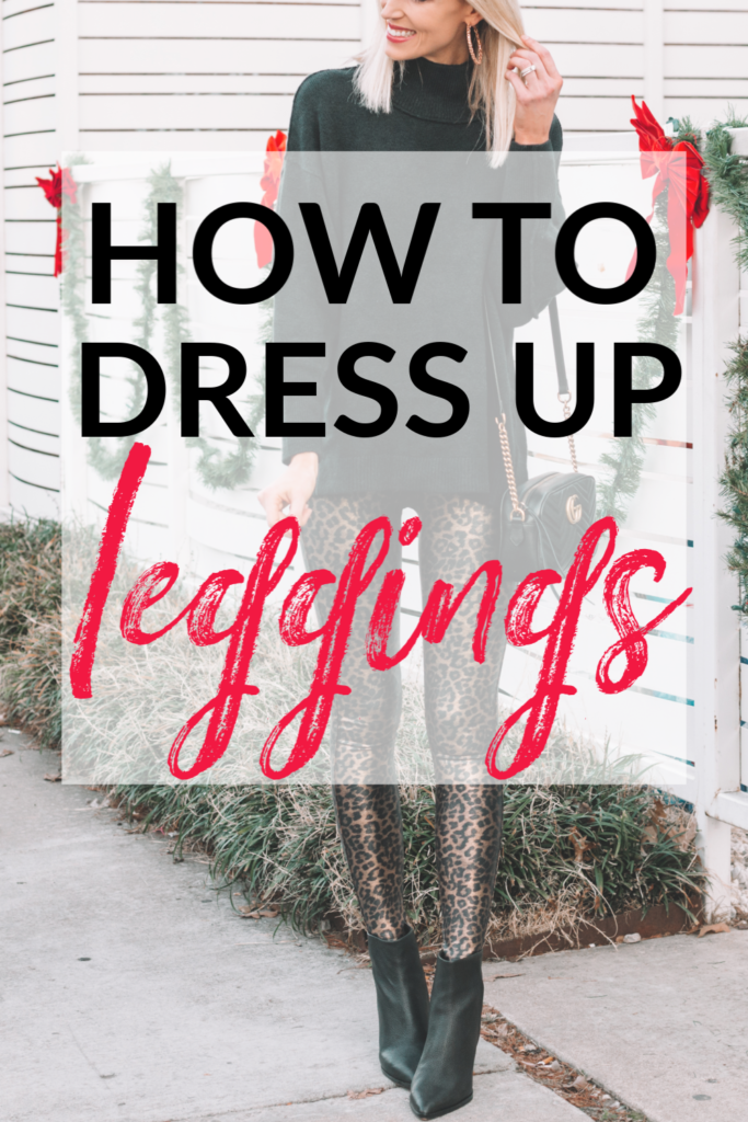 how to dress up leggings, post all about how to dress up leggings, Spanx faux leather leggings, how to style Spanx faux leather leggings