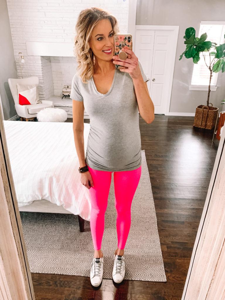PinkBlush maternity active leggings