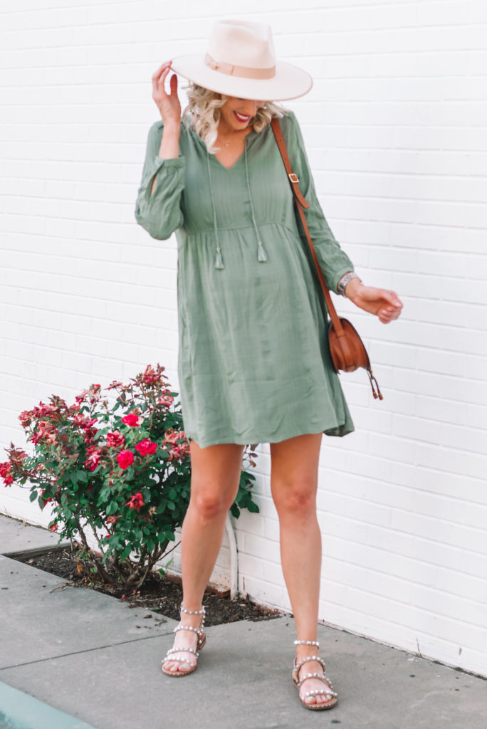 Casual dresses are a great alternative to shorts during the summer!