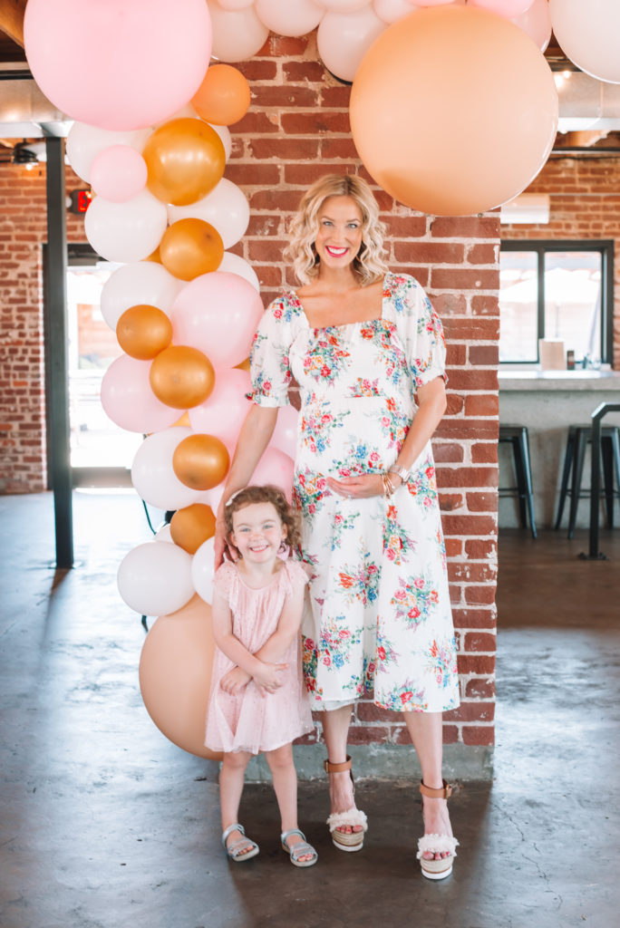 I loved having my sweet girl with me at our special baby shower.