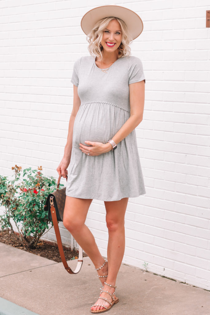 I am in love with this casual cotton dress! It's super soft and comfortable.