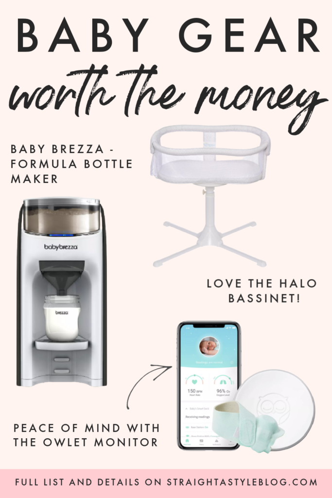 Are you pregnant or considering having a baby? Or maybe there is a gap between your two children like there was for us. Things change quickly in the baby world! So I'm sharing the best baby gear worth the money. These are the top three baby gadgets that will make your life easier!