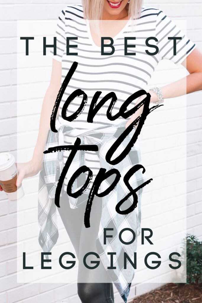 Are you on the hunt for the best long tops for leggings that actually cover your bottom? ME TOO! At 5'10, this is a rarity for me and a constant frustration. I've finally found the solution though! Click to read more.