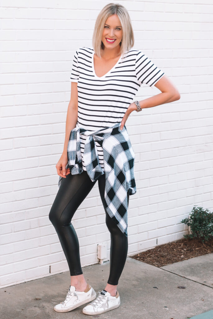 Have you been searching for tops that are long enough to wear with leggings and actually cover?? Me too! I've finally found the solution.