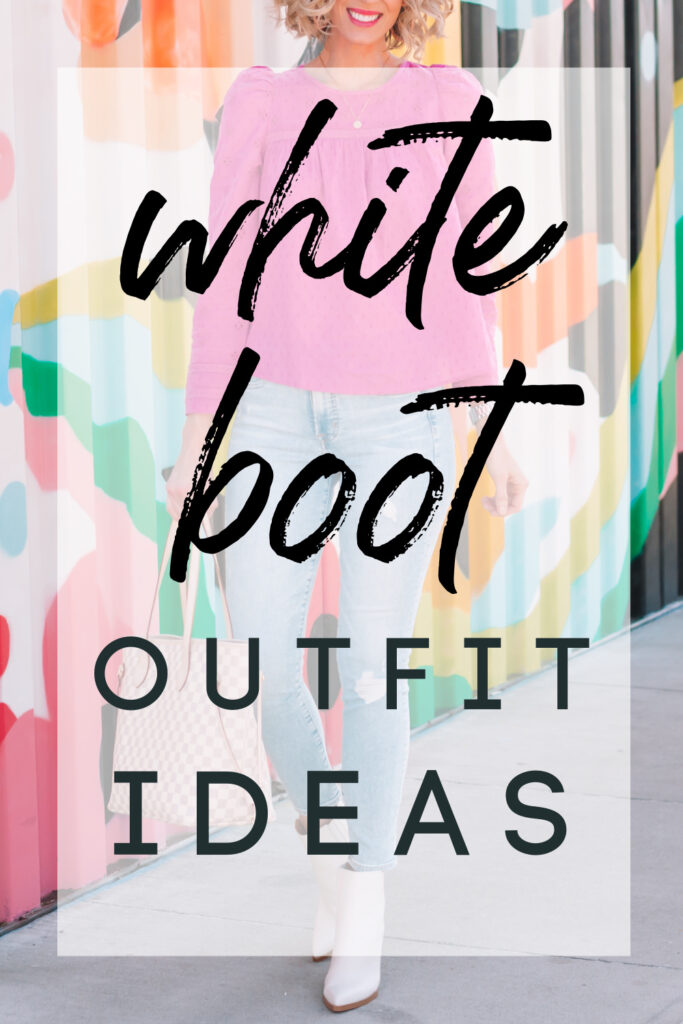 Looking for white boot outfit ideas? Click for details in this look plus other outfits all paired with white boots!
