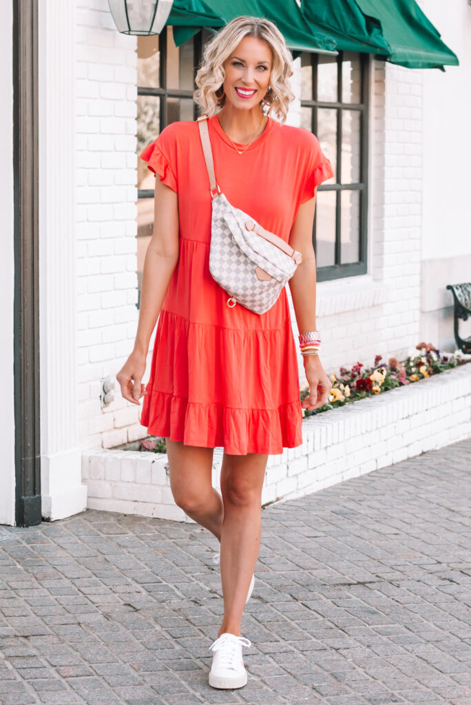 This $15 tiered cotton dress is all I have been wanting to wear lately!