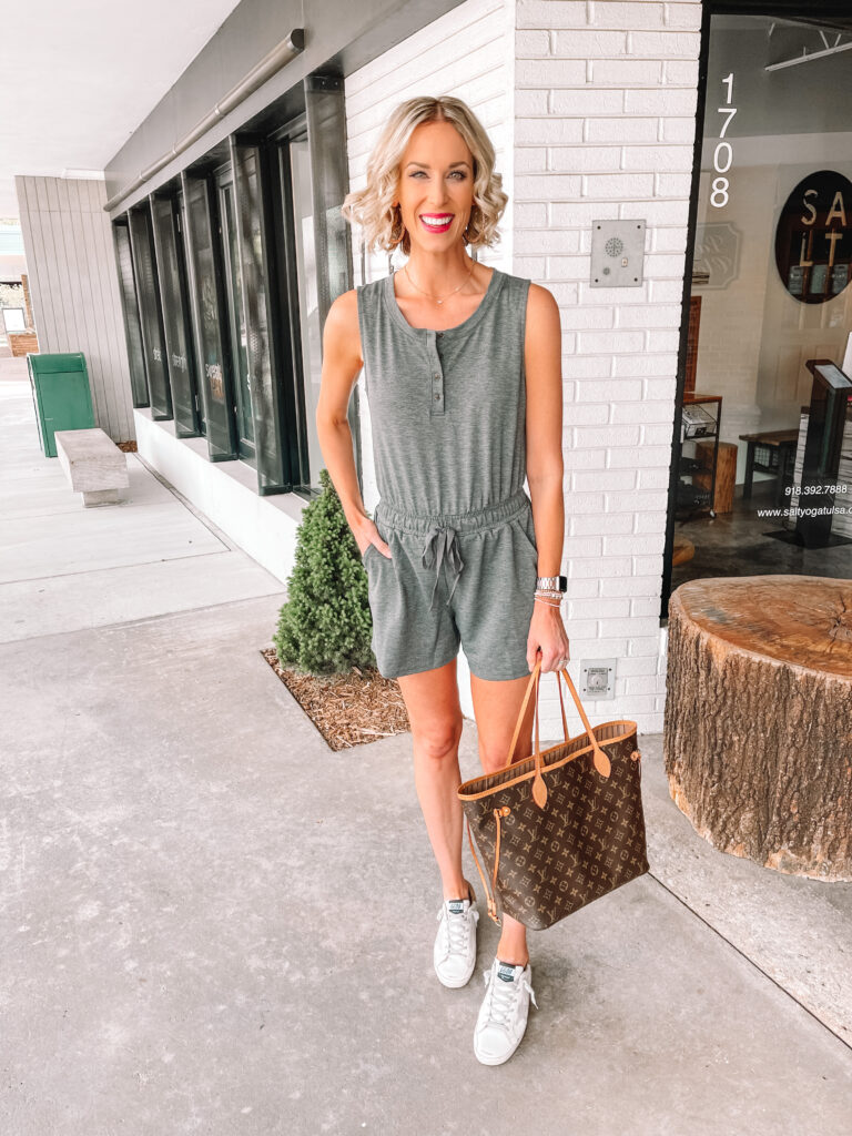 Another Walmart try on for you today! Nothing over $26 including this adorable $13 romper!!