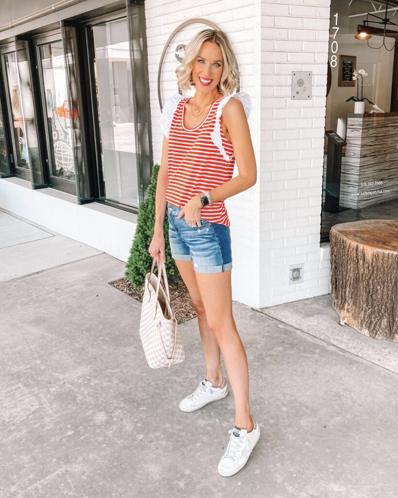 Are you looking for the best long jean shorts that actually cover and don't break the bank? I found some that check all the boxes!