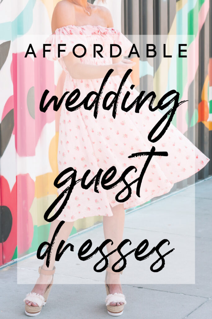 Looking for affordable summer wedding guest dresses? I have you covered with multiple cute options in today's post in a variety of styles.