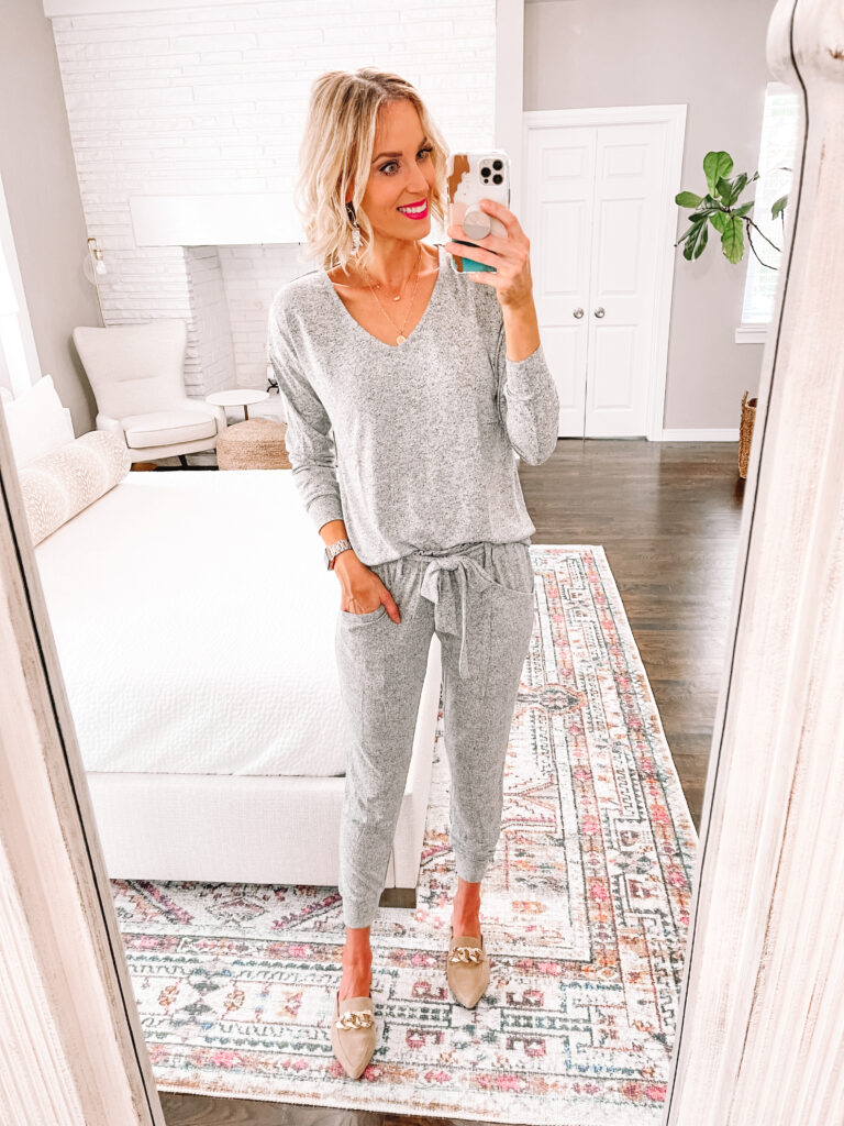 I am obsessed with this Nordstrom Anniversary sale 2021 loungewear set! It's super soft and easy to wear out of the house.