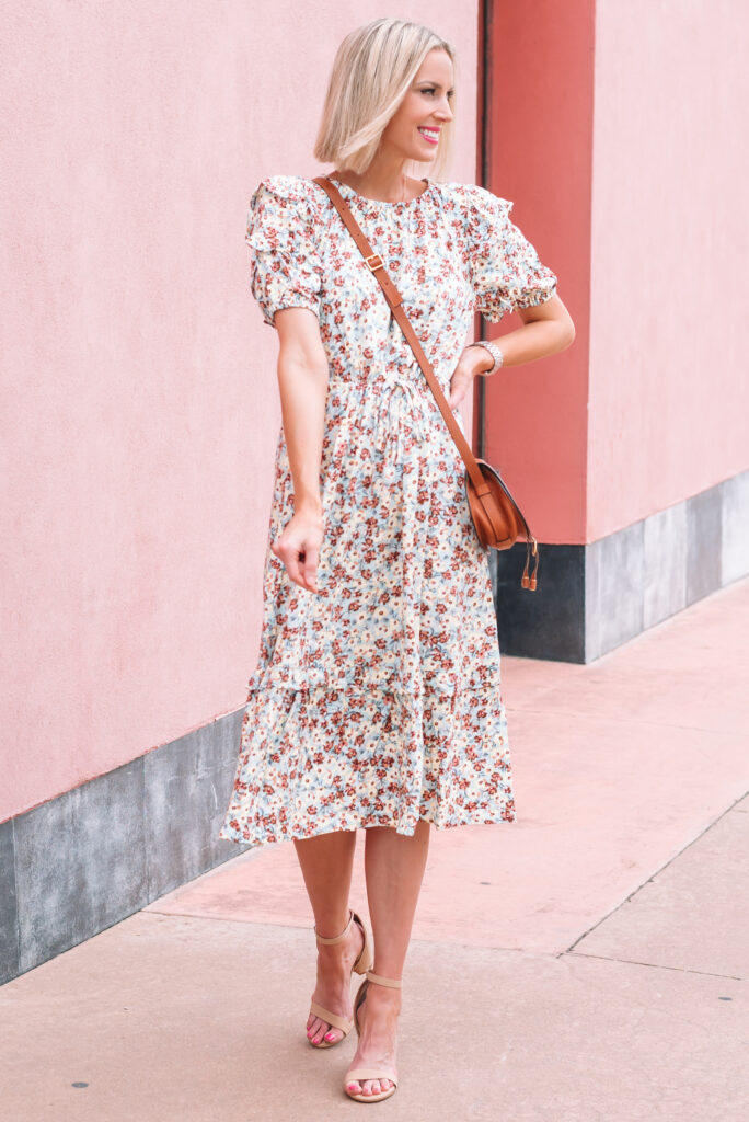 Are you looking to stretch your closet? I'm sharing tips on how to style a dress for now and later plus what to look for in a dress when you buy!