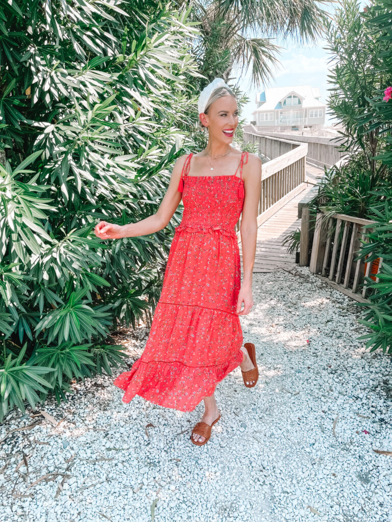 Have a summer dress you love? Wondering how to transition your summer dress to fall? This post if for you! Sharing this gorgeous dress styled three ways.