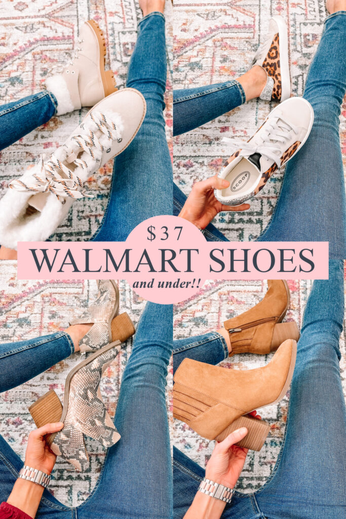 Today I have a huge Walmart try on with nothing over $36 these shoes! Cozy hiker boots, trendy stylish sneakers, snake skin boots, and classic ankle booties.
